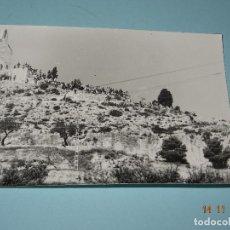 Fotografía antigua: ANTIGUA FOTOGRAFIA ORIGINAL DE IBI - TRIAL EN LA HERMITA DE SAN MIGUEL. Lote 103484935