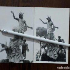 Fotografía antigua: ANTIGUAS FOTOGRAFIAS DE NUESTRO PADRE JESÚS RESUCITADO LINARES JAEN . Lote 103885903