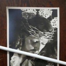 Fotografía antigua: ANTIGUA FOTOGRAFIA DE NUESTRO PADRE JESÚS DE LA MISERICORDIA MALAGA . Lote 103886587