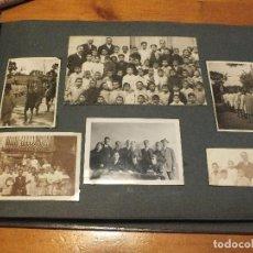 Fotografía antigua: ALBUM ANTIGUO DE FOTOGRAFÍAS COLEGIO DE SAN ILDEFONSO MADRID COFRADÍA CABALLEROS CUBICULARIOS. Lote 103888991