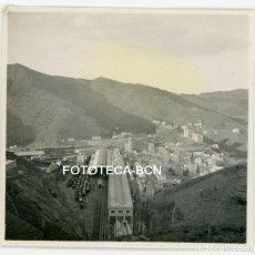 Fotografía antigua: FOTO ORIGINAL PORTBOU ESTACION DE TREN AÑOS 30. Lote 104347839