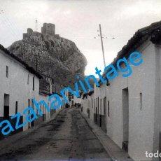 Fotografía antigua: BELMEZ, CORDOBA, ANTIGUA FOTOGRAFIA UNA CALLE DEL PUEBLO, 14X9 CMS. Lote 104543399