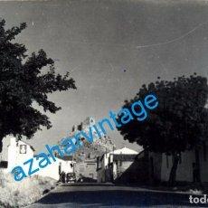Fotografía antigua: BELMEZ, CORDOBA, ANTIGUA FOTOGRAFIA UNA CALLE DEL PUEBLO, 14X9 CMS. Lote 104543483