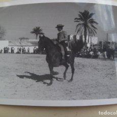 Old photograph - FOTO DE CAMPERO A CABALLO, DOMA VAQUERA O SIMILAR - 104759411
