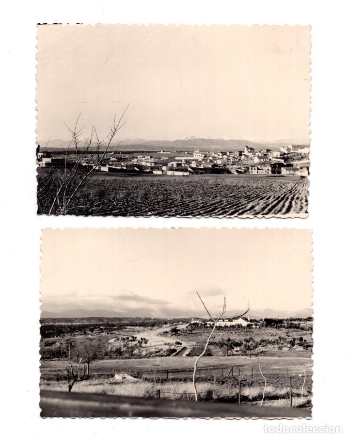 2 FOTOGRAFÍAS PANORAMICAS LAS MATAS MADRID 1965 - 10,5 X 7 CM (Fotografía Antigua - Fotomecánica)