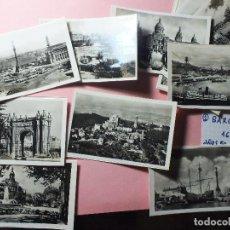 Fotografía antigua: BARCELONA 16 FOTOS FOTOGRAFÍAS B/N AÑOS 50 SAGRADA FAMILIA CATEDRAL ARCO ECT Nº1. Lote 105051323