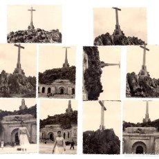 Fotografía antigua: FOTOGRAFIAS - VALLE DE LOS CAIDOS - MADRID - EN CONSTRUCCIÓN - 1964 - 10 X 7 CM. Lote 113121994