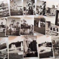 Fotografía antigua: LOTE 16 FOTOGRAFÍAS ZOO BARCELONA ? ANTIGUAS AÑOS 50 O 60? CATALUNYA CAMARA VINTAGE. Lote 105608523