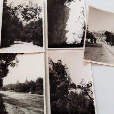 Fotografía antigua: LOTE 5 FOTOGRAFÍAS MONTSERRAT ? ANTIGUAS AÑOS 50 O 60? BARCELONA CATALUYA CAMARA VINTAGE. Lote 105609579