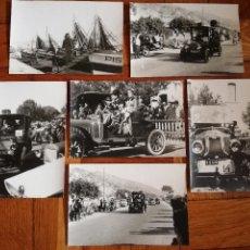 Fotografía antigua: SERIE FOTOGRAFICA DEL RALLY DE COCHES. SITGES AÑOS 60 -COMPETICION CARRERA LOTE DE 6 FOTOGRAFIAS. Lote 106598667