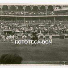 Fotografía antigua: FOTO ORIGINAL PLAZA DE TOROS DE VISTA ALEGRE BILBAO CORRIDA TAUROMAQUIA PASEILLO - AGOSTO 1934. Lote 106704979
