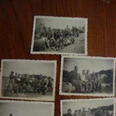 Fotografía antigua: LOTE 5 FOTOS ORIGINALES. ESTUDIANTES DE MANACOR. MALLORCA. HACIA 1955. Lote 107109835