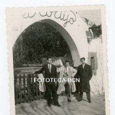 Fotografía antigua: FOTO ORIGINAL BARCELONA DESAPARECIDA RESTAURANTE EL CORTIJO AVENIDA DIAGONAL AÑOS 40/50. Lote 107212995