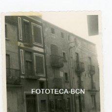 Fotografía antigua: FOTO ORIGINAL CASA NATAL DEL MUSICO PAU CASALS EL VENDRELL TARRAGONA AÑOS 50. Lote 107329639