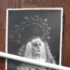 Fotografía antigua: ANTIGUA FOTOGRAFIA DE NUESTRA SEÑORA DE LOS REMEDIOS SEVILLA. Lote 107854787
