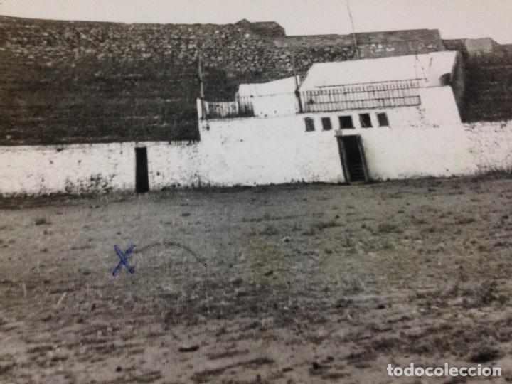 Fotografía antigua: ANTIGUAS FOTOGRAFIAS PLAZA DE TOROS DE CORTEGANA HUELVA - Foto 3 - 108052739