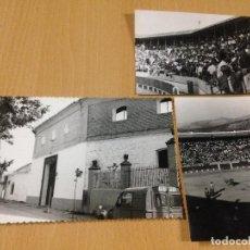 Fotografía antigua: ANTIGUAS FOTOGRAFIAS PLAZA DE TOROS DE CABRA CORDOBA. Lote 108053135