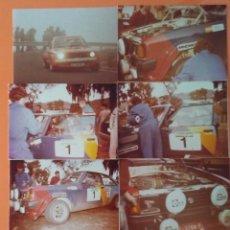Fotografía antigua: RALLY GRAN CANARIA (EL CORTE INGLÉS LAS PALMAS) AÑO 1983 LOTE DE 16 FOTOGRAFIAS. Lote 108380503