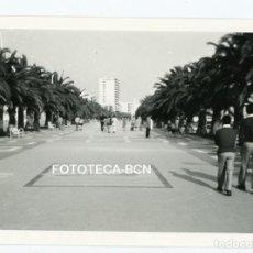 Fotografía antigua - FOTO ORIGINAL SALOU PASEO MARITIMO TURISMO AÑO 1974 - 108792311