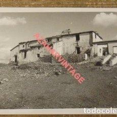 Fotografía antigua: ANTIGUA FOTOGRAFIA, CERRO DE LA PELUCA, MALAGA, 125X90MM. Lote 108913979