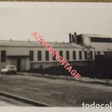 Fotografía antigua: ANTIGUA FOTOGRAFIA, ORUJERA DE FUENTE DE PIEDRA, MALAGA, 125X90MM. Lote 108990875