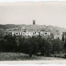 Fotografía antigua: FOTO ORIGINAL MATET PROVINCIA CASTELLON VISTA DE LA POBLACION AÑOS 40. Lote 109062307