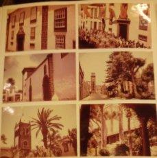 Fotografía antigua: SIETE FOTOS DE LA LAGUNA, TENEREIFE 1956. Lote 109095455