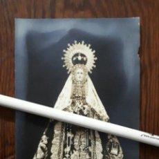 Fotografía antigua: ANTIGUA FOTOGRAFIA DE NUESTRA SEÑORA DEL CASTAÑAR PATRONA DE BEJAR SALAMANCA . Lote 109124651