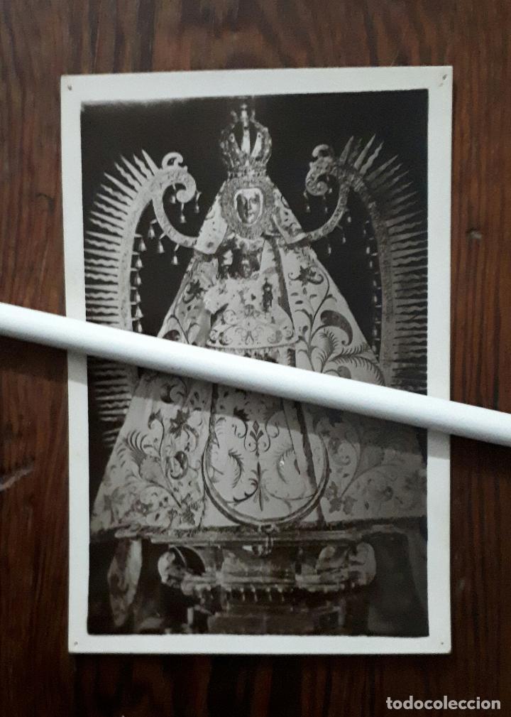 ANTIGUA FOTOGRAFIA DE NUESTRA SEÑORA DEL PRADO PATRONA DE CIUDAD REAL (Fotografía Antigua - Fotomecánica)