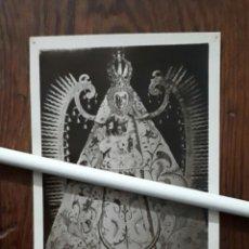 Fotografía antigua: ANTIGUA FOTOGRAFIA DE NUESTRA SEÑORA DEL PRADO PATRONA DE CIUDAD REAL . Lote 109126079