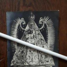 Fotografía antigua: ANTIGUA FOTOGRAFIA DE NUESTRA SEÑORA DEL PRADO PATRONA DE CIUDAD REAL . Lote 109126147