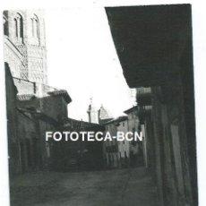 Fotografía antigua: FOTO ORIGINAL ALAGON IGLESIA MUDEJAR SAN PEDRO APOSTOL AÑOS 60. Lote 109313235