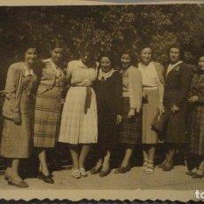 Fotografía antigua: ANTIGUA FOTOGRAFIA.GRUPO DE CHICAS.VILLACAÑAS.FOTO SAN JOSE.TOLEDO.AÑOS 50. Lote 109314203