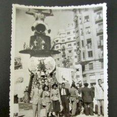 Fotografía antigua: ANTIGUA FOTOGRAFÍA FALLAS DE VALENCIA. FALLA DE SAN ANDRÉS. VALENCIA, 18 MARZO, 1951. Lote 109449827