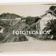 Fotografía antigua: FOTO ORIGINAL BARCELONA ESTACION FUNICULAR TIBIDABO PL DOCTOR ANDREU AÑO 1946. Lote 109451403