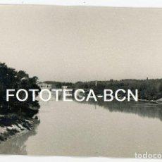 Fotografía antigua: FOTO ORIGINAL ZARAGOZA BASILICA DEL PILAR RIO EBRO AÑOS 60. Lote 109538007