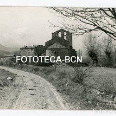 Fotografía antigua: FOTO ORIGINAL ERMITA SANTA MARIA DE MOSOLL CERDANYA AÑO 1961. Lote 109776947