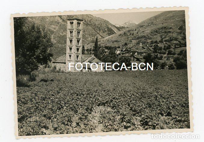 FOTO ORIGINAL TAULL VALL BOI IGLESIA ROMANICA LLEIDA AÑO 1956 (Fotografía Antigua - Fotomecánica)