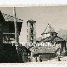 Fotografía antigua: FOTO ORIGINAL TAHULL VALL BOI CALLE DE LA POBLACION AÑO 1956. Lote 109819943