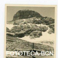Fotografía antigua: FOTO ORIGINAL PICO EL CILINDRO MONTE PERDIDO PIRINEO ARAGONES AÑOS 50. Lote 109820811
