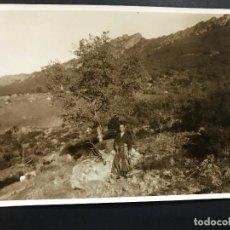 Fotografía antigua - ANTIGUA FOTO DE CAZA MOSTRANDO FANTASTICO TROFEO - ZONA SIERRA MORENA - AÑOS 20-30 - 110017831