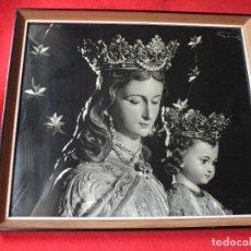 Fotografía antigua: FOTO FOTOGRAFIA SEMANA SANTA DE SEVILLA VIRGEN MARIA AUXILIADORA ENMARCADA. Lote 110384455