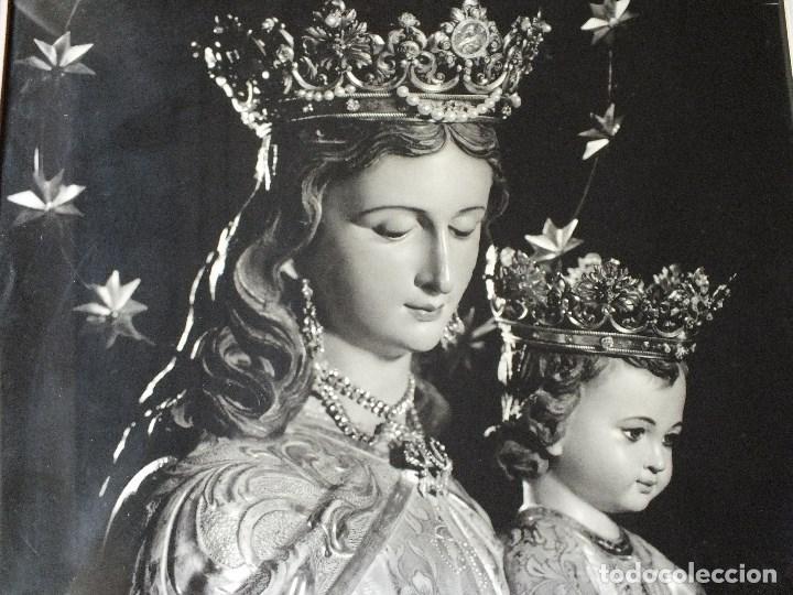 Fotografía antigua: FOTO FOTOGRAFIA SEMANA SANTA DE SEVILLA VIRGEN MARIA AUXILIADORA ENMARCADA - Foto 3 - 110384455