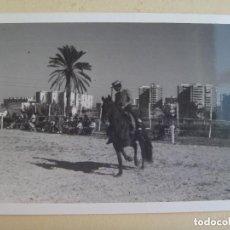 Old photograph - FOTO DE CAMPERO A CABALLO, DOMA VAQUERA O SIMILAR - 110696323