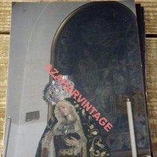 Fotografía antigua: SEMANA SANTA SEVILLA, VIRGEN DEL ROSARIO, MONTESION, 100X150MM. Lote 111356819