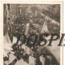 Fotografía antigua: FOTO, 50 ANIVERSARIO CORONACIÓN VIRGEN DE BEGOÑA, 6X8,5, ORIGINAL, AÑOS 40/50. Lote 111597399