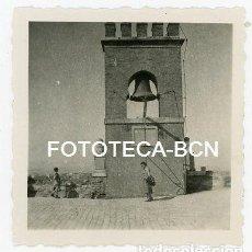 Fotografía antigua: FOTO ORIGINAL GRANADA ALHAMBRA CAMPANARIO AÑO 1951. Lote 111867575