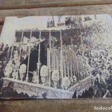 Fotografía antigua: FOTO FOTOGRAFIA SEMANA SANTA DE SEVILLA VIRGEN DE LOS DOLORES DE EL CERRO. Lote 112305303