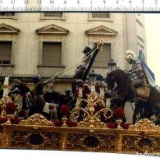 Fotografía antigua: FOTOGRAFÍA STMO. CRISTO DE LA EXALTACIÓN SEMANA SANTA DE SEVILLA. Lote 112566783