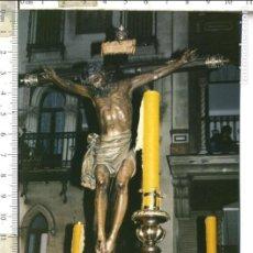 Fotografía antigua: FOTOGRAFÍA STMO. CRISTO DE BURGOS SEMANA SANTA DE SEVILLA. Lote 112567551